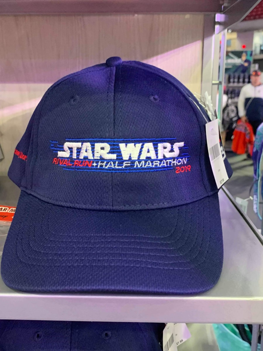 Merchandise from the 2019 Star Wars Rival Run Weekend 12