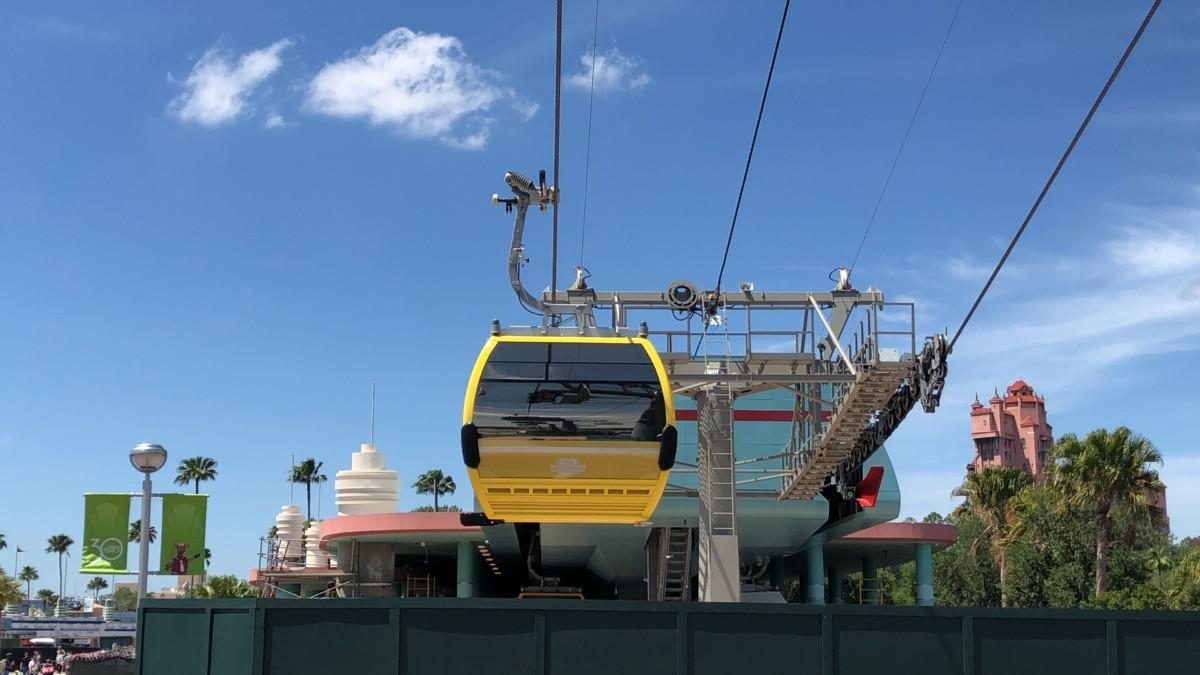 "Disney Skyliner ""Gondola"" Testing at Hollywood Studios 2"