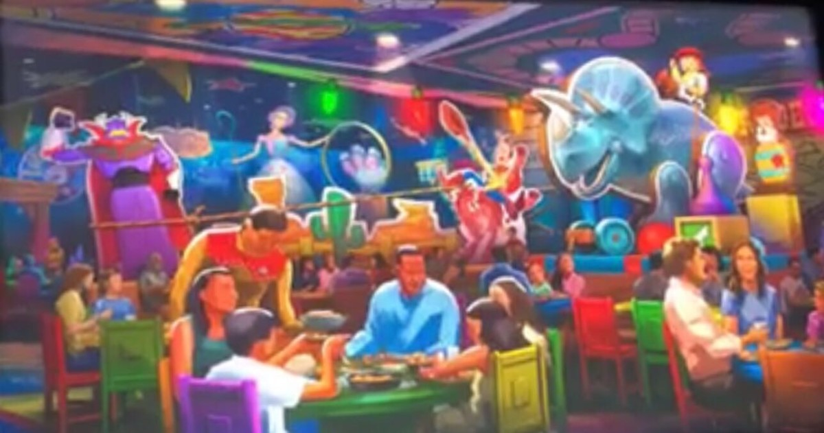 New Toy Story Restaurant Coming To Disney's Hollywood Studios 2