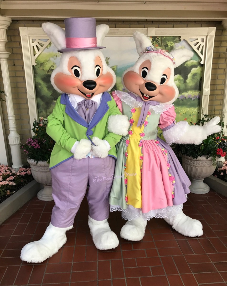 Mr. and Mrs. Easter Bunny appear at Magic Kingdom just in time for Easter 14