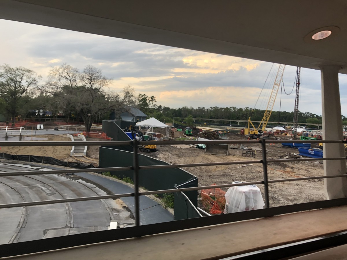 Construction Update for TRON at Magic Kingdom 8