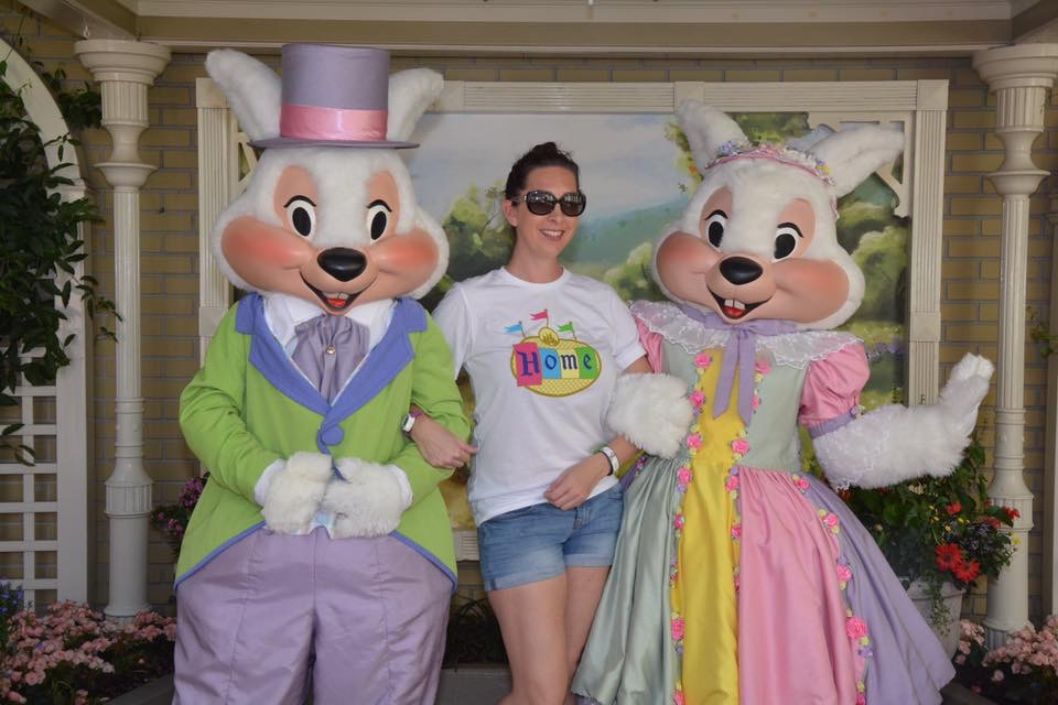 Mr. and Mrs. Easter Bunny appear at Magic Kingdom just in time for Easter 3