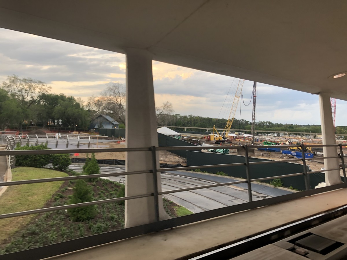 Construction Update for TRON at Magic Kingdom 3