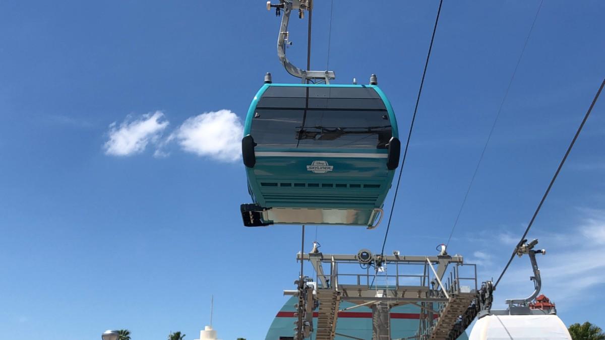 "Disney Skyliner ""Gondola"" Testing at Hollywood Studios 5"