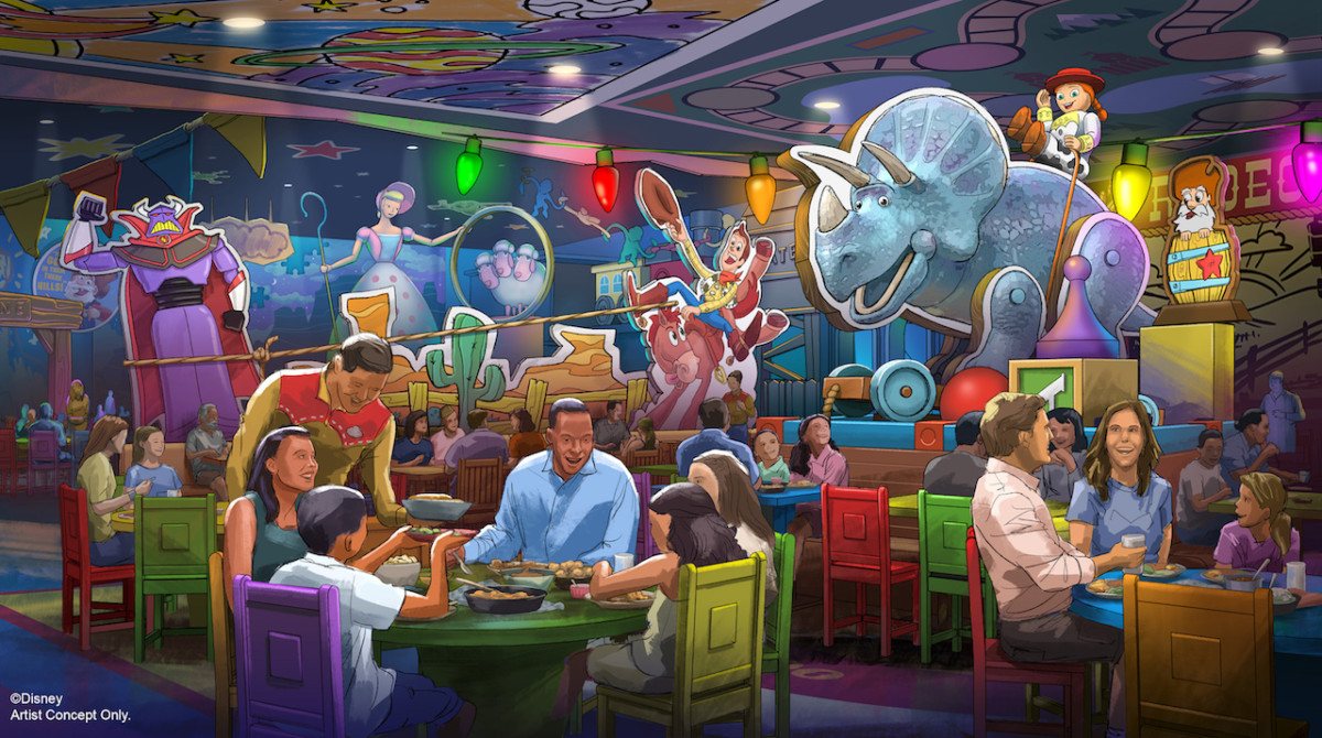 New Roundup Rodeo BBQ Restaurant Coming to Toy Story Land at Disney's Hollywood Studios 4