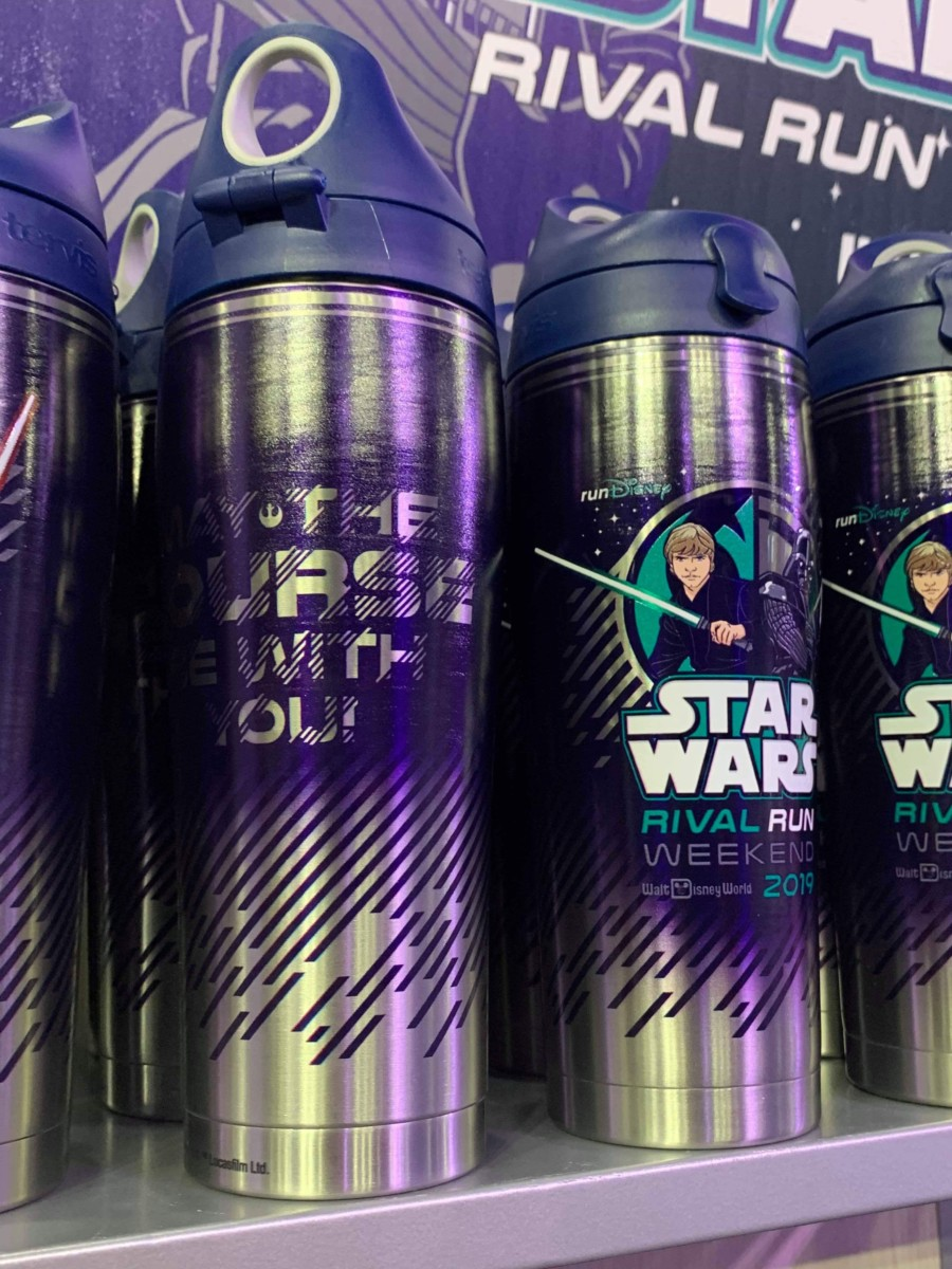 Merchandise from the 2019 Star Wars Rival Run Weekend 7