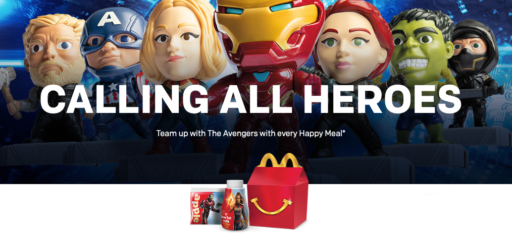 Marvel's Endgame Toys At McDonald's 1