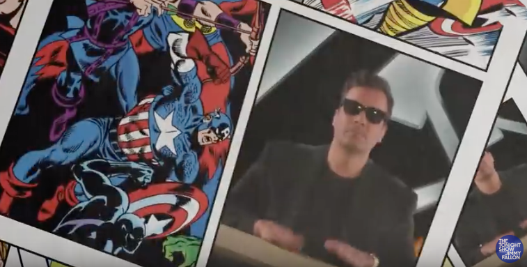 "Avengers Cast Sing ""We Didn't Start the Fire"" Marvel Edition 28"