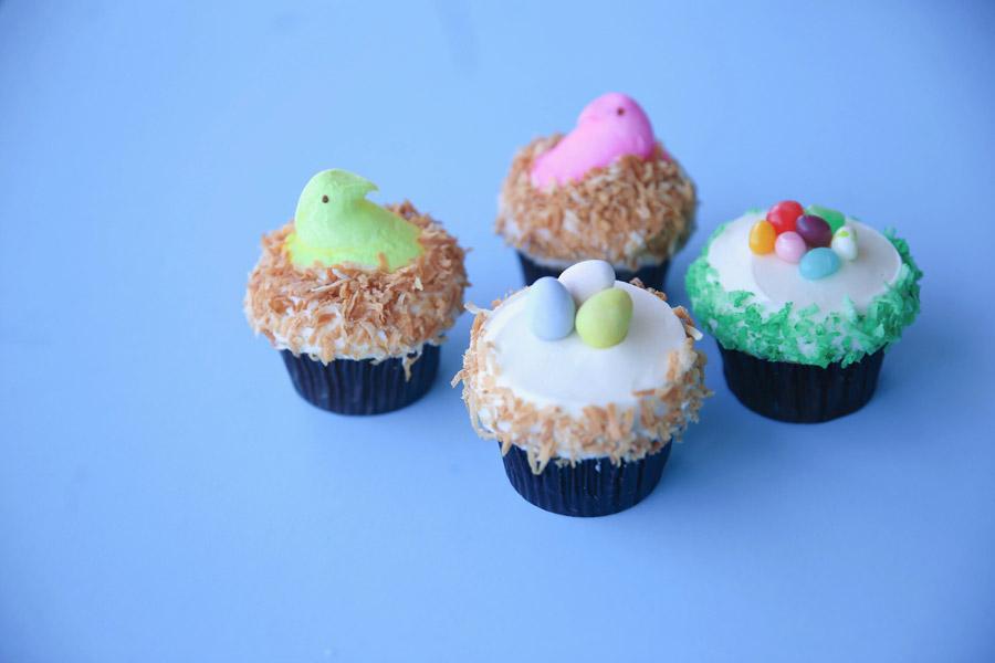 Easter cupcakes from Sprinkles at Disney Springs