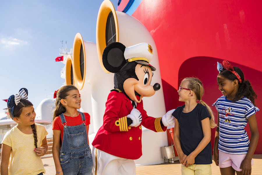 Captain Minnie Mouse To Inspire Next Generation of Female Ship Captains On The Disney Cruise Line 12