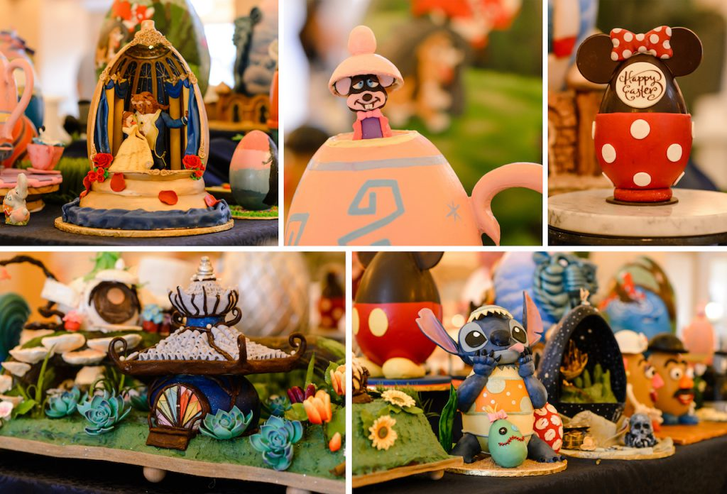 Disney's Yacht and Beach Club Resorts 2019 Easter Egg Displays