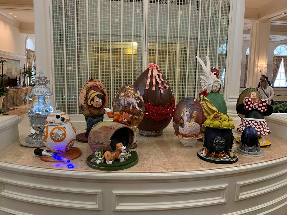 The Chocolate Easter Egg Display is Out Now at Disney's Grand Floridian Resort! 5
