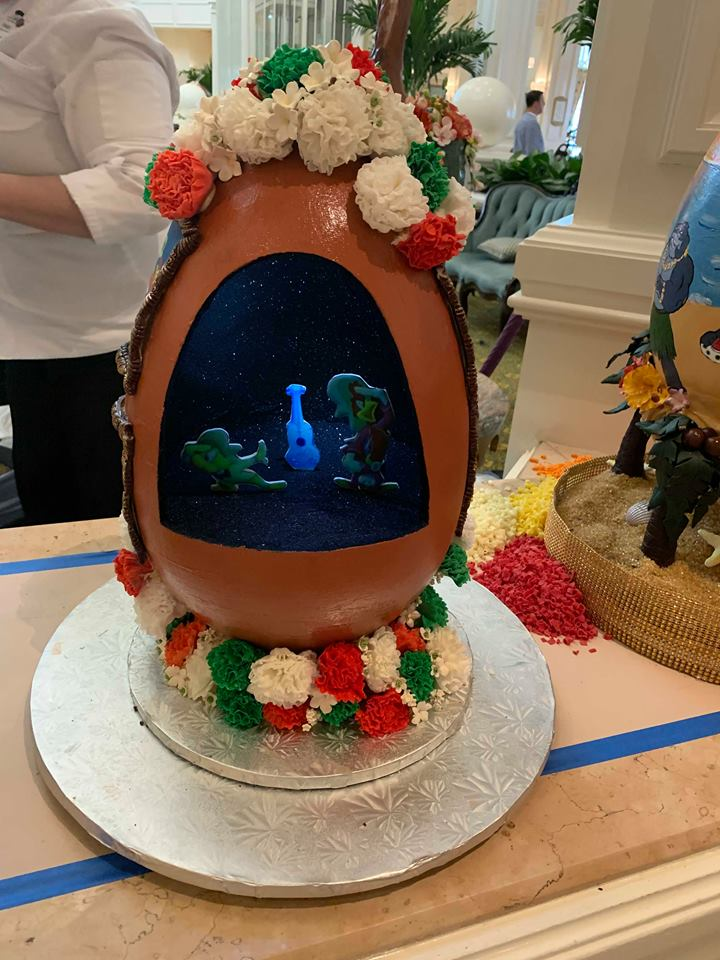 The Chocolate Easter Egg Display is Out Now at Disney's Grand Floridian Resort! 3