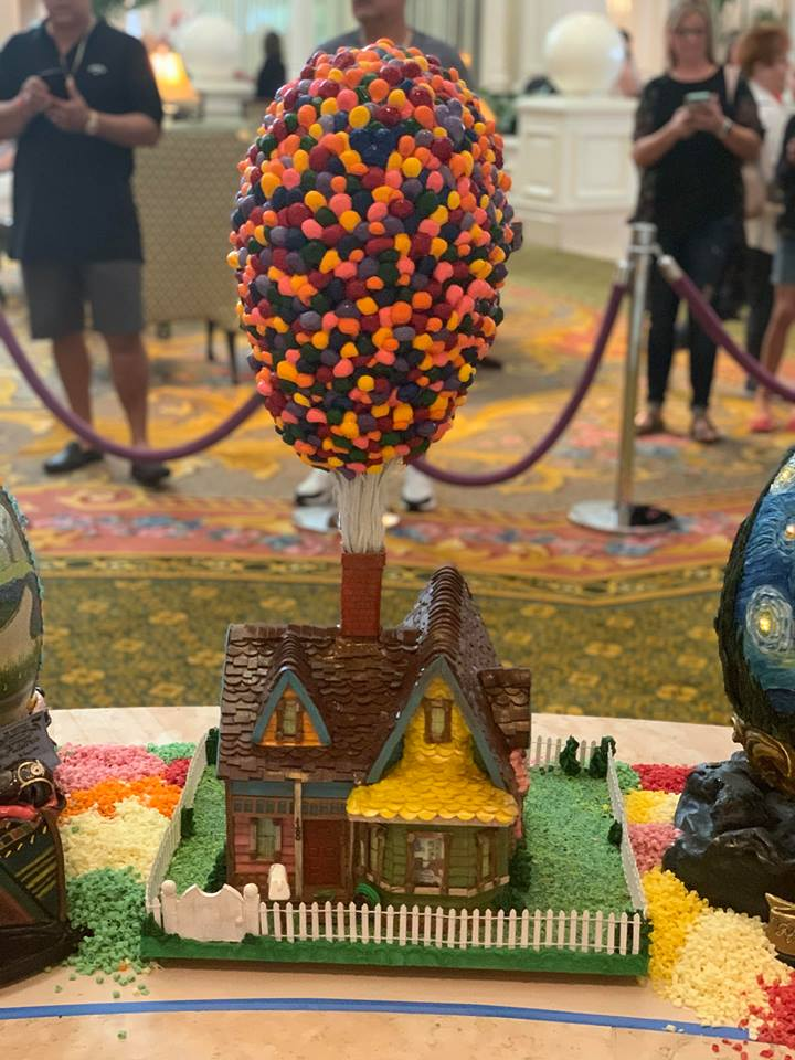 The Chocolate Easter Egg Display is Out Now at Disney's Grand Floridian Resort! 8