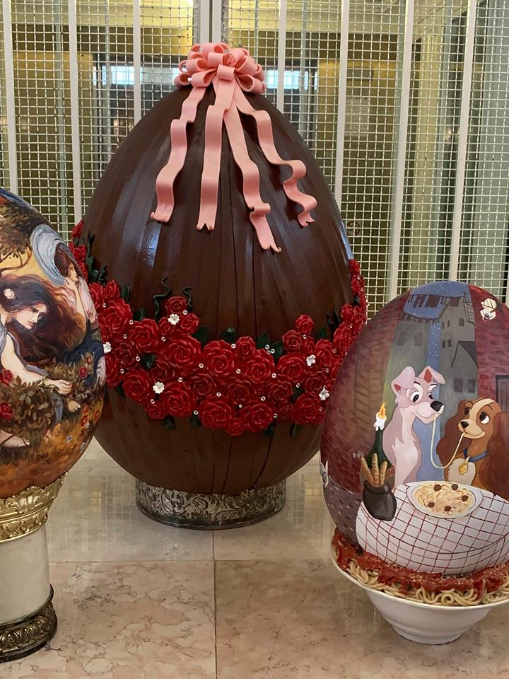 The Chocolate Easter Egg Display is Out Now at Disney's Grand Floridian Resort! 9