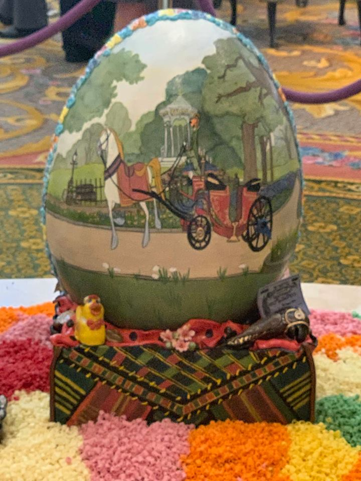 The Chocolate Easter Egg Display is Out Now at Disney's Grand Floridian Resort! 10