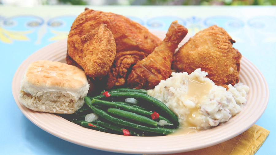 Fried Chicken from Plaza Inn at Disneyland Park