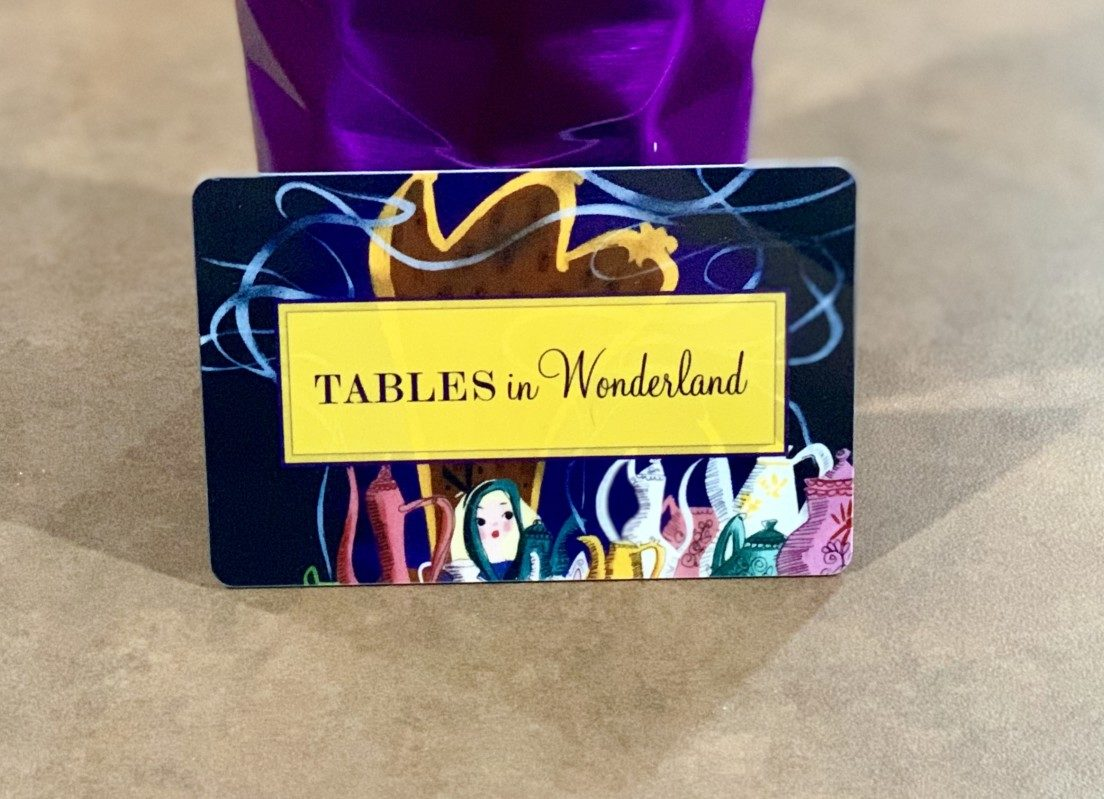 Tables In Wonderland Card 3