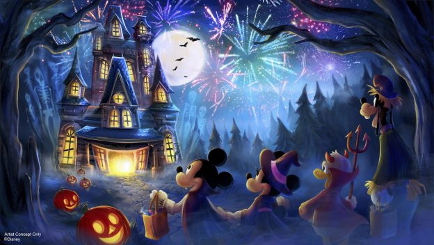 Breaking News! New Fireworks Show for Mickey's Not-So-Scary Halloween Party! 7