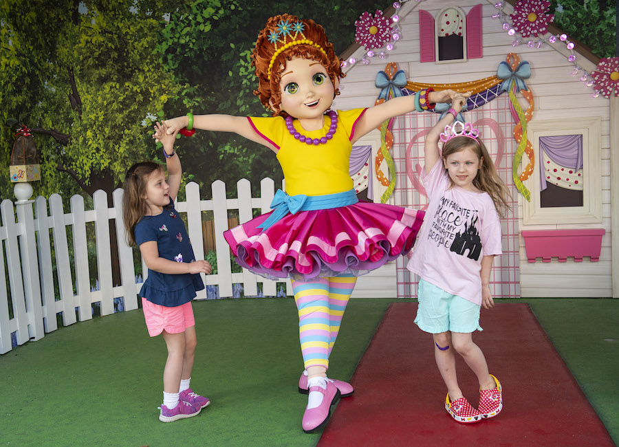 Fancy Nancy at Disney's Hollywood Studios