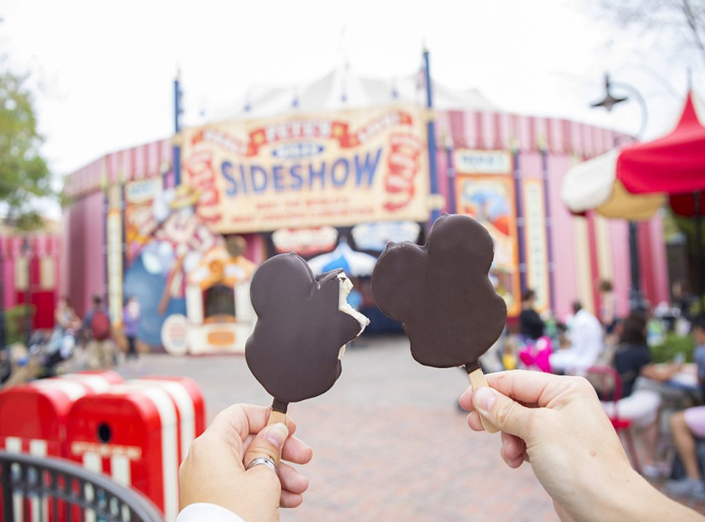 Mickey's Ice Cream Bars at Magic Kingdom Park