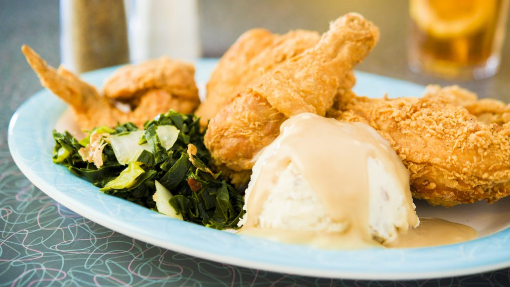 Aunt Liz's Golden Fried Chicken from 50's Prime Time Café at Disney's Hollywood Studios