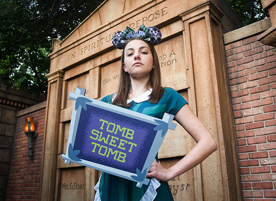 Enjoy Special Experiences at Magic Kingdom Park on April 13 to Celebrate Walt Disney World Resort's 13th Attraction Photo Location at the Haunted Mansion 12
