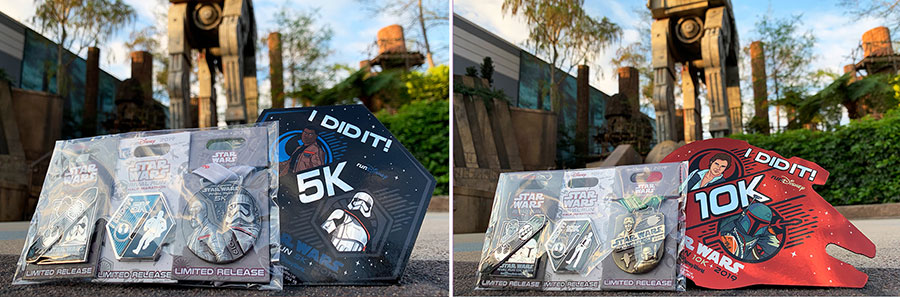 """I Did It!"" runDisney Star Wars merchandise"
