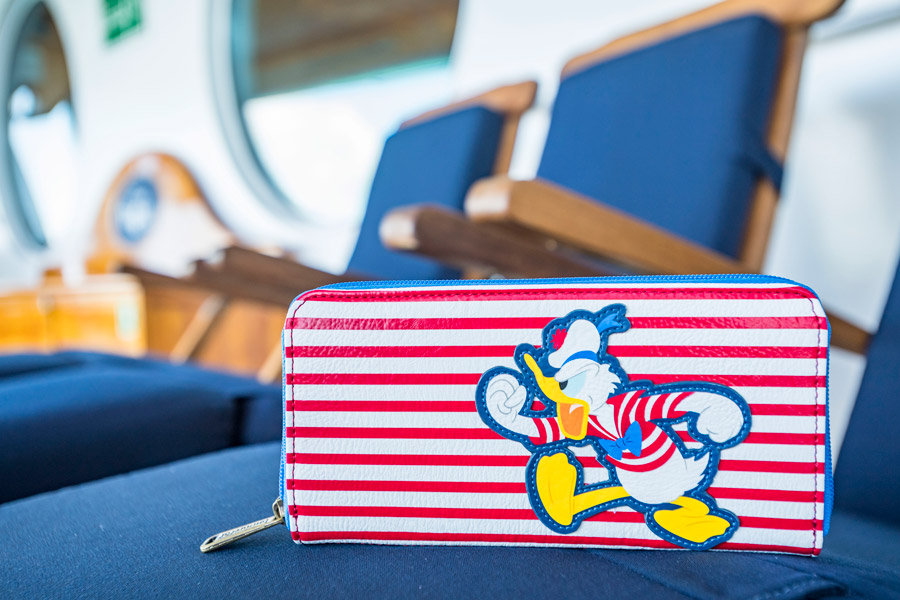 Disney Cruise Line's exclusive new Characters Ahoy collection - Donald Duck-inspired wallet