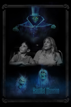 New Photo Opportunity at Walt Disney World Resort Materializes at the Haunted Mansion 15