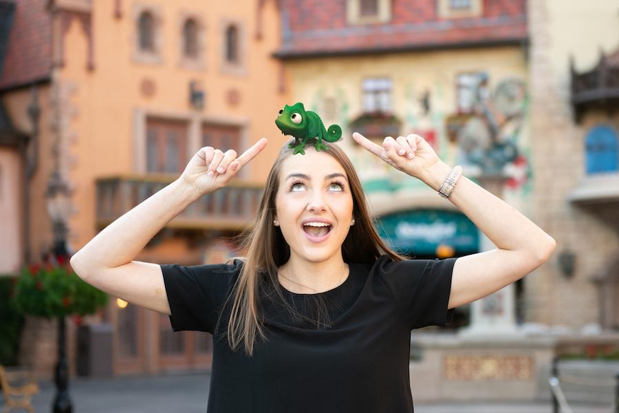 Disney PhotoPass Magic Shot in Germany at Epcot