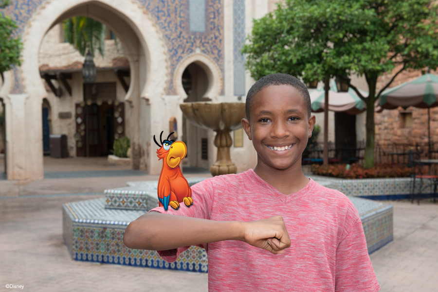 Disney PhotoPass Magic Shot in Morocco at Epcot
