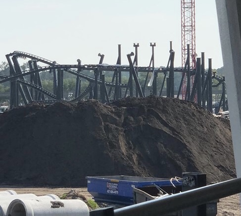 Construction Update for TRON, Magic Kingdom 25