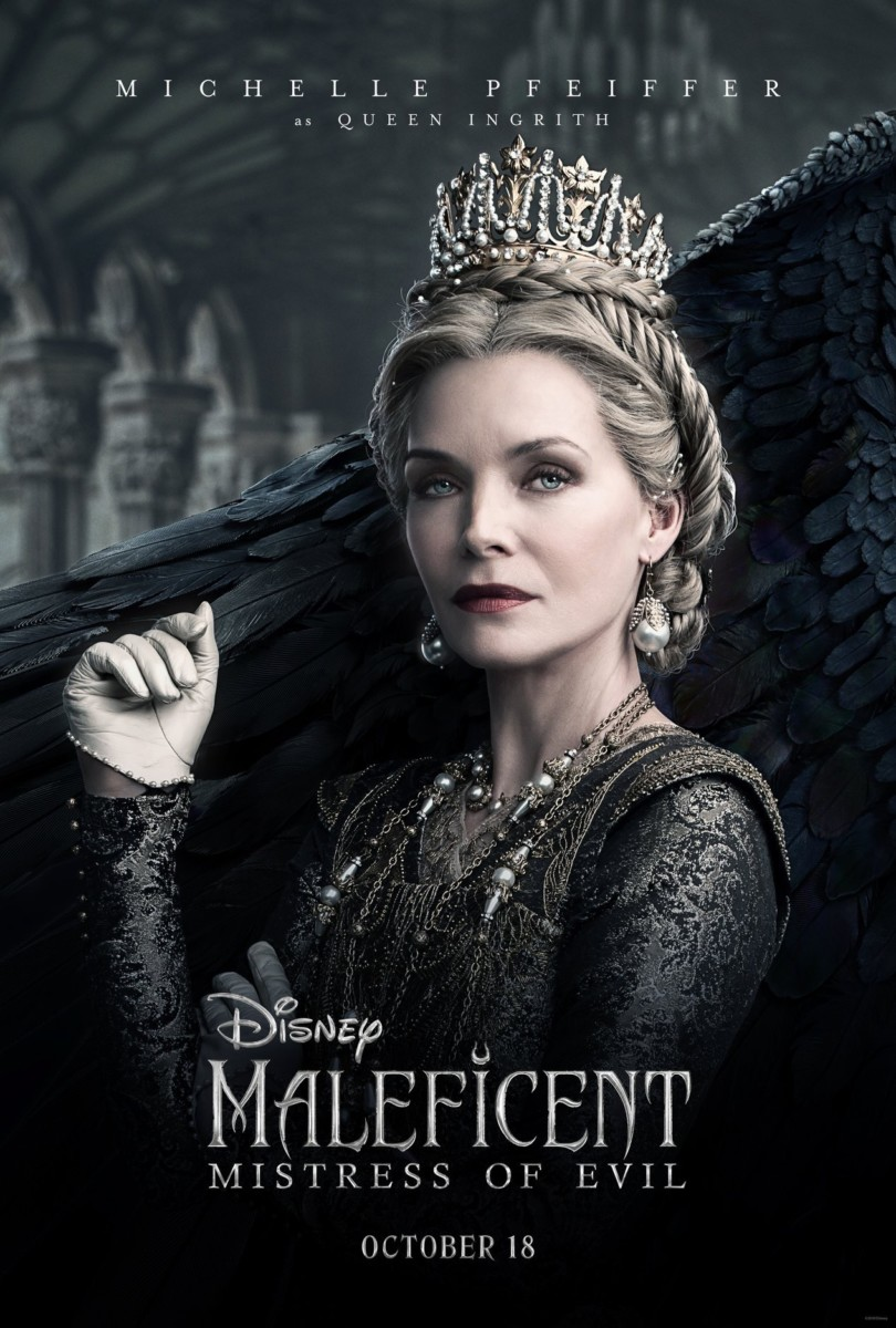 See the New Movie Posters for Maleficent: Mistress of Evil 2