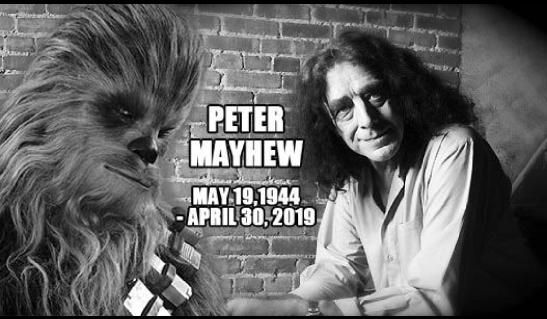 Peter Mayhew, the Original Chewbacca, Has Sadly Passed Away at 74 1