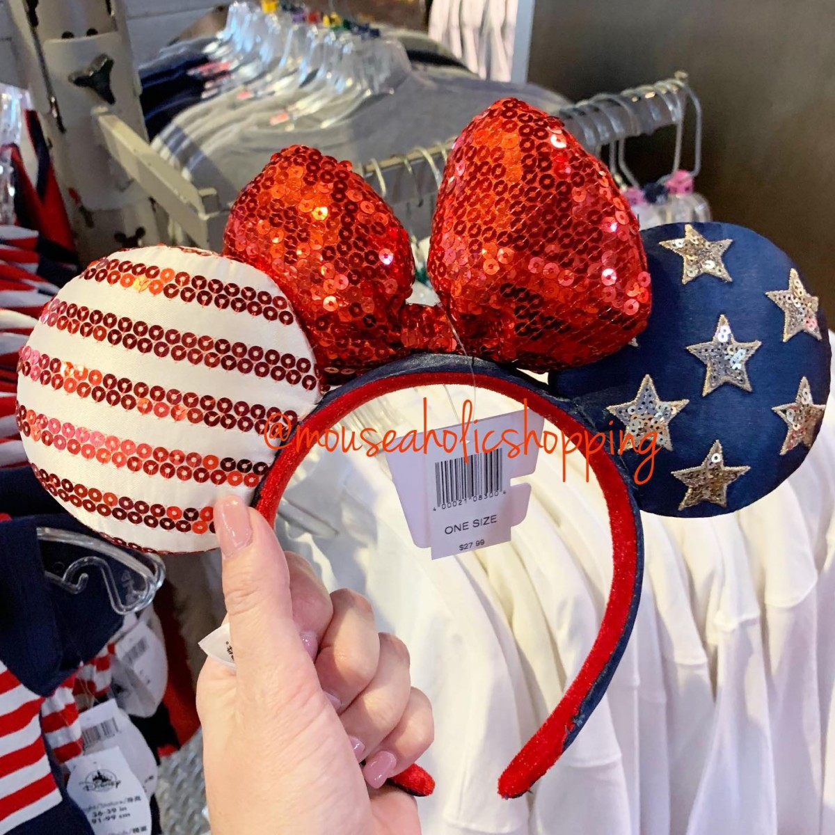 Patriotic Americana Merchandise Sails Into Disney Parks 3