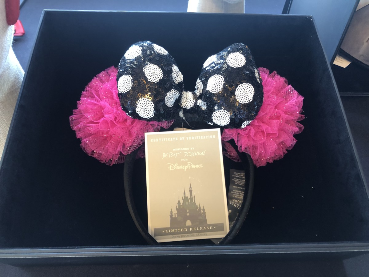 Betsey Johnson Ears and Jewelry Coming Soon! #disneyspringssummer 2