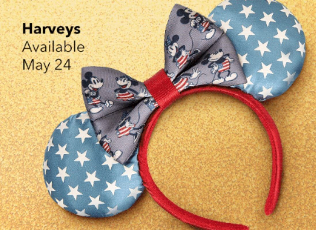New Harveys Designer Mouse Ears Coming Soon 2