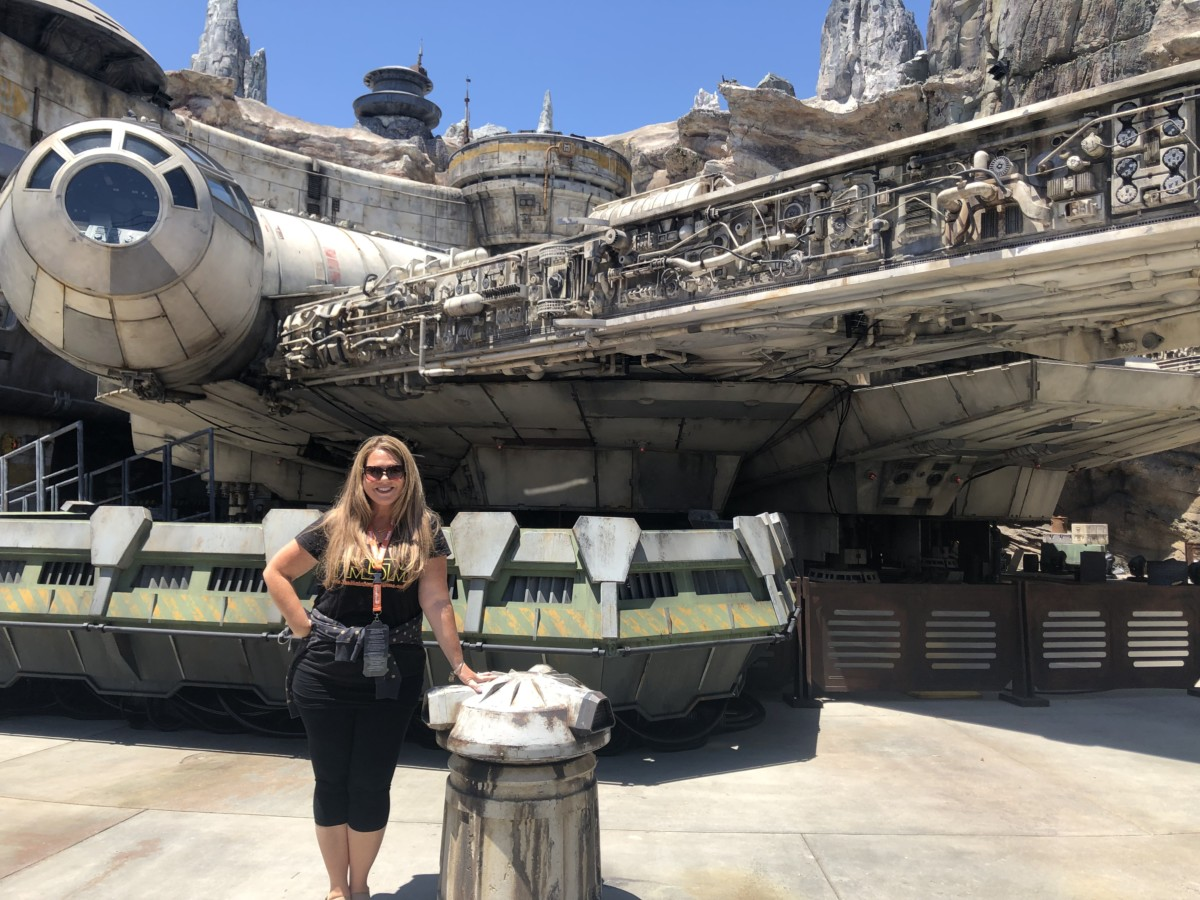 Your First Look at Star Wars: Galaxy's Edge #disneyland #galaxysedge 3