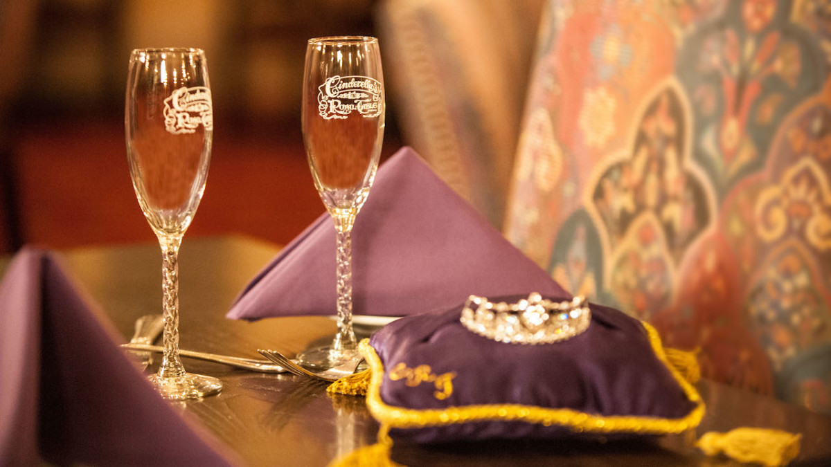 New Signature Celebration Package at Cinderella's Royal Table 1