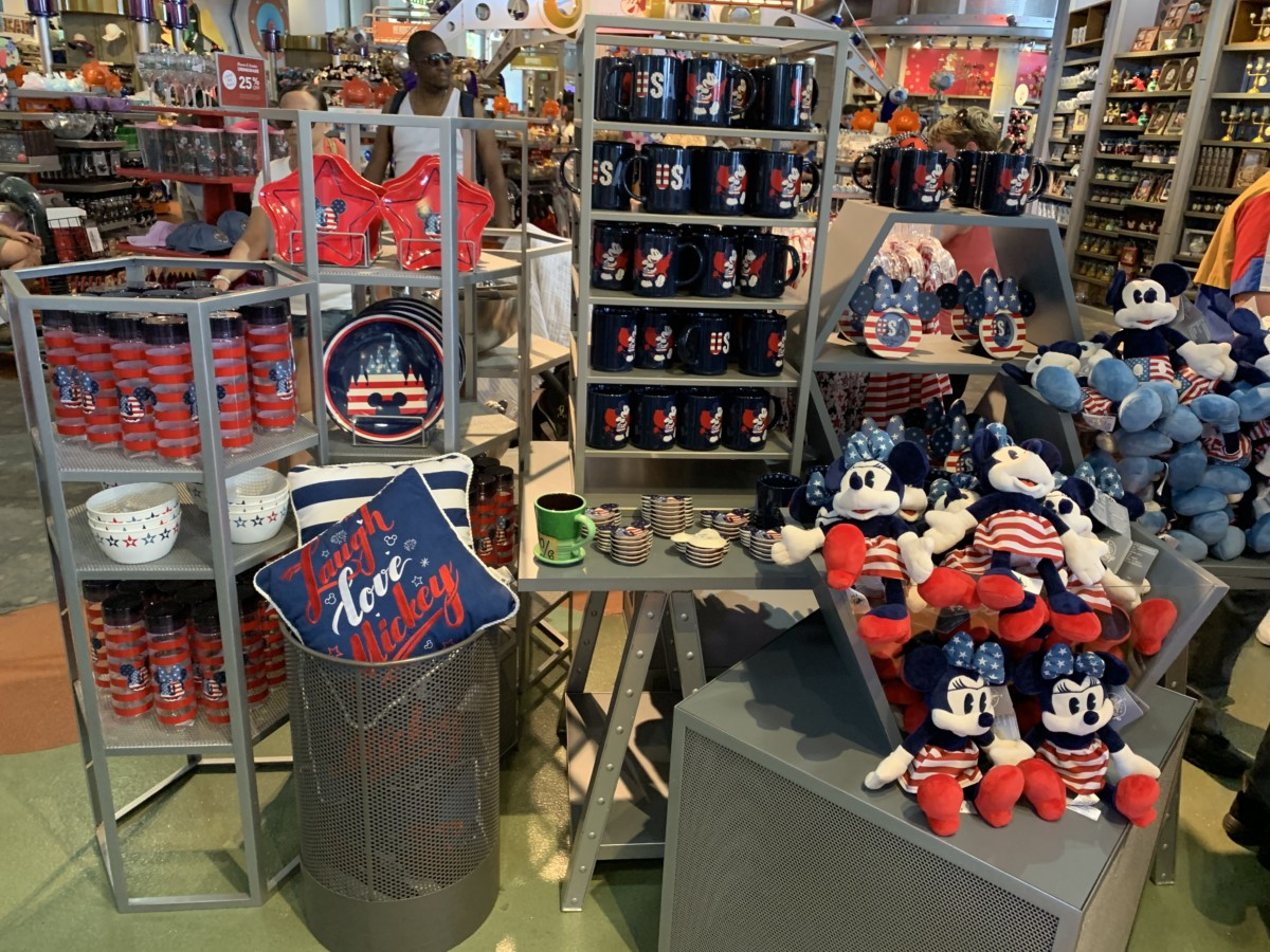 Patriotic Americana Merchandise Sails Into Disney Parks 2