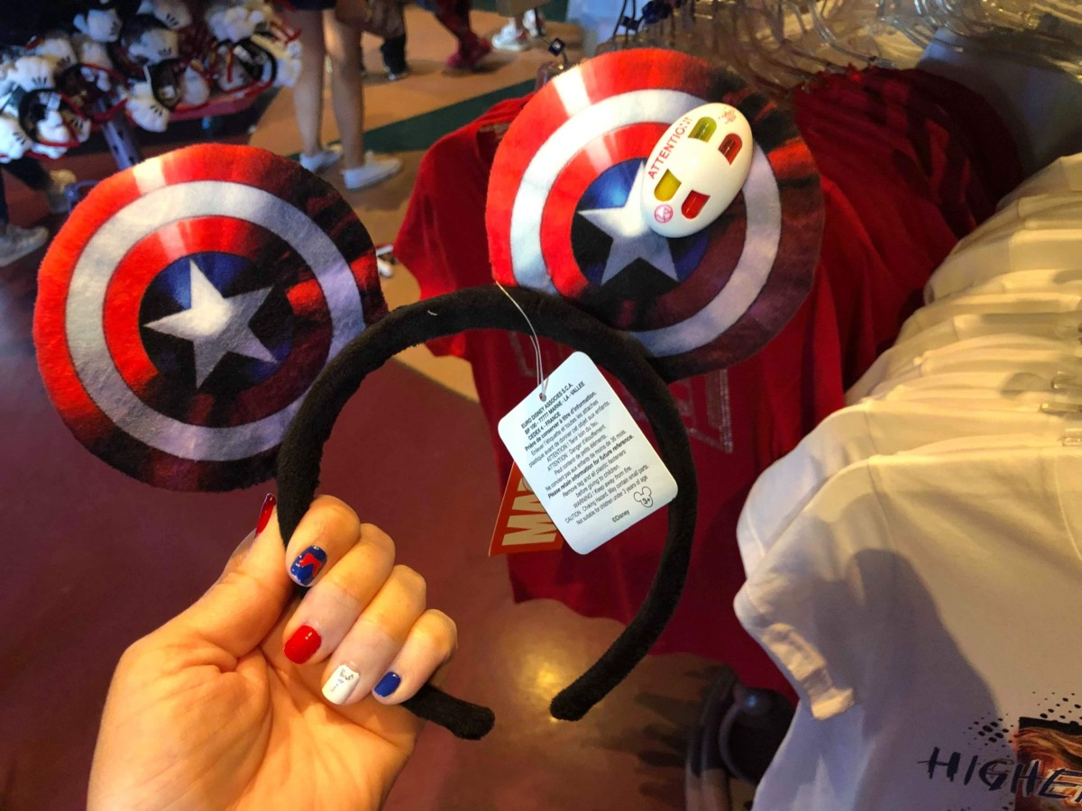 See the Various Magical Mouse Ears at Disneyland Paris! 10