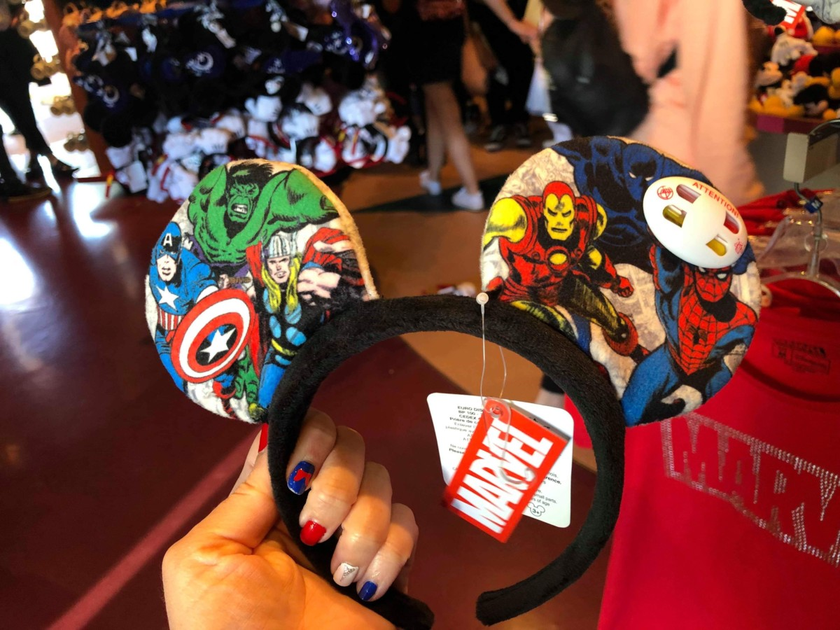 See the Various Magical Mouse Ears at Disneyland Paris! 9