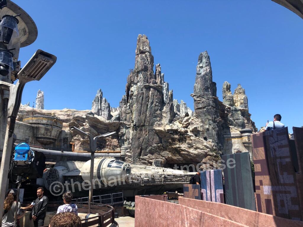 Millennium Falcon Queue And More 2