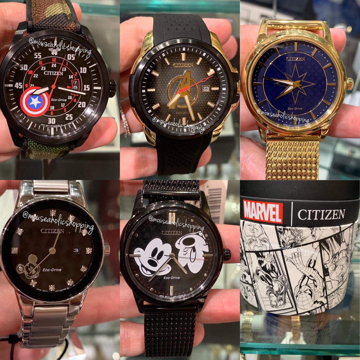 These new watches are infused with Marvel super powers and our favorite Mickey Mouse 24
