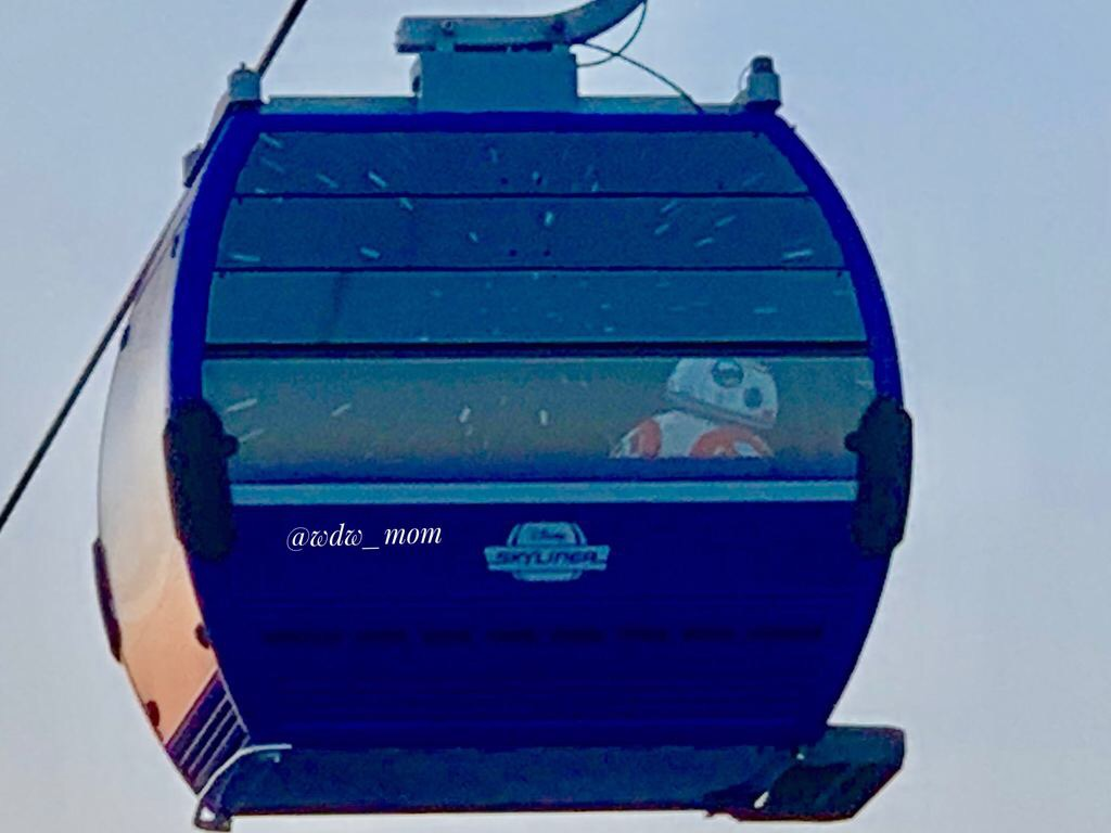 More Close Up Photos of the New Disney Skyliner 5