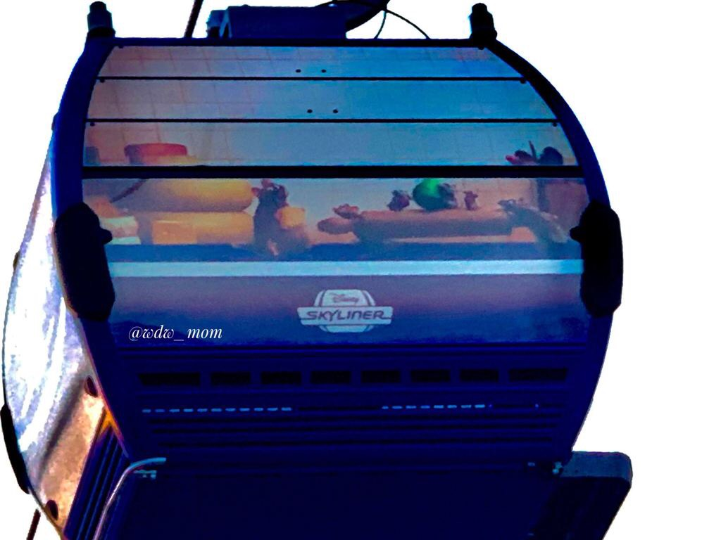 More Close Up Photos of the New Disney Skyliner 3