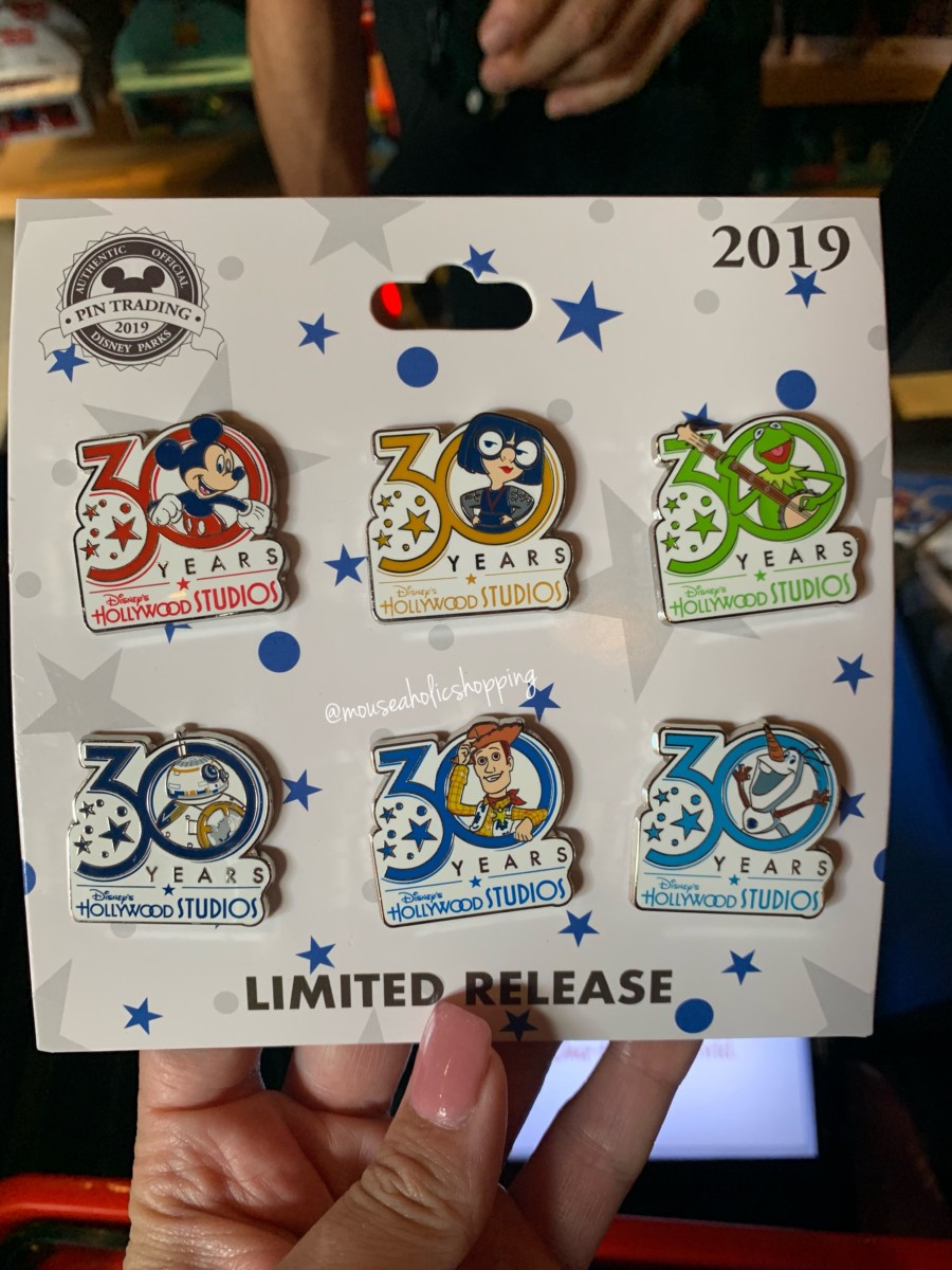 Brand New Merchandise For Disney's Hollywood Studios 30th Anniversary 7