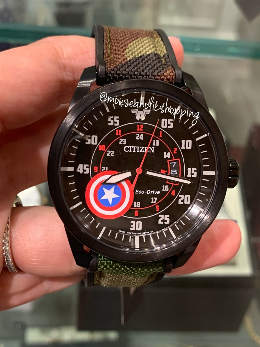 These new watches are infused with Marvel super powers and our favorite Mickey Mouse 3