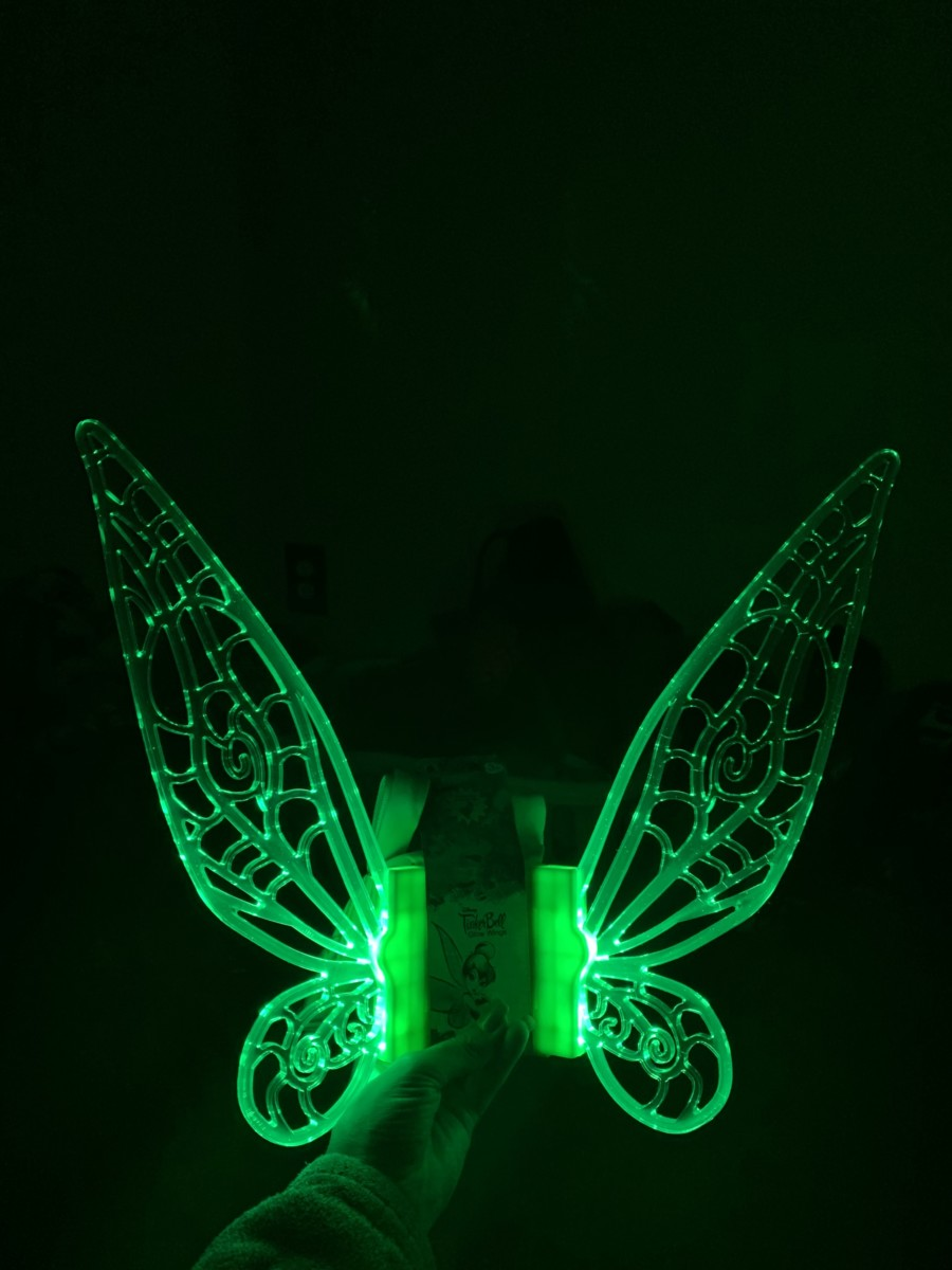 NEW Light Up Tinker Bell Wings Have All The Pixie Dust 1
